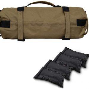 Super Heavy Duty Workout Sandbags Saddlebag For Training Fitness, Exercise Sandbags, Military, Athletic Sand Bags
