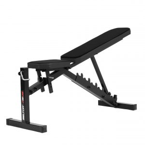 ADJUSTABLE TRAINING BENCH + BARBELL STAND