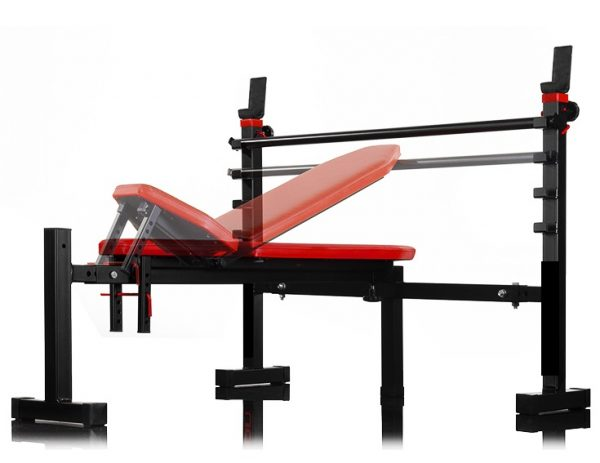 Bench with Barbell Racks