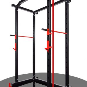 Workout cage with RACK support