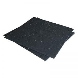 RUBBER FLOOR 1m X 1m GYM MATT