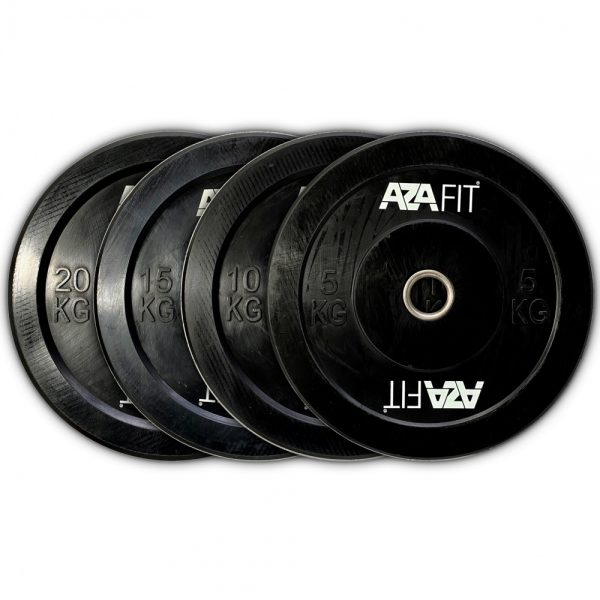 100 kgs Set of OLYMPIC BUMPER PLATES
