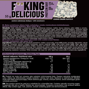 FITKING DELICIOUS PROTEIN BAR 55g