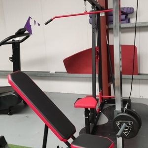 Adjustable Bench + Lat Tower
