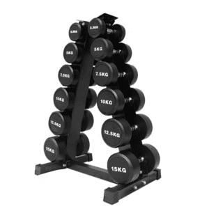 6 pairs dumbbell rack