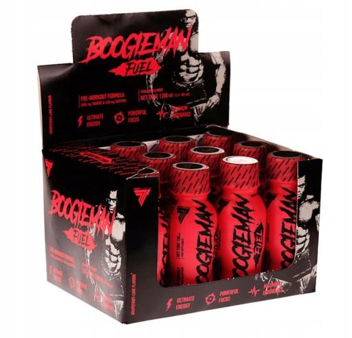 Box of BOOGIEMAN SHOTS 100ml x 12 - 24 servings